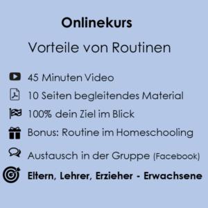 Onlinekurs Routine