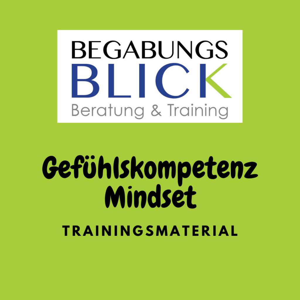 Gefühlskompetenz Training Material zur Gefühlswahrnehmung und Stärkung vom Mindset