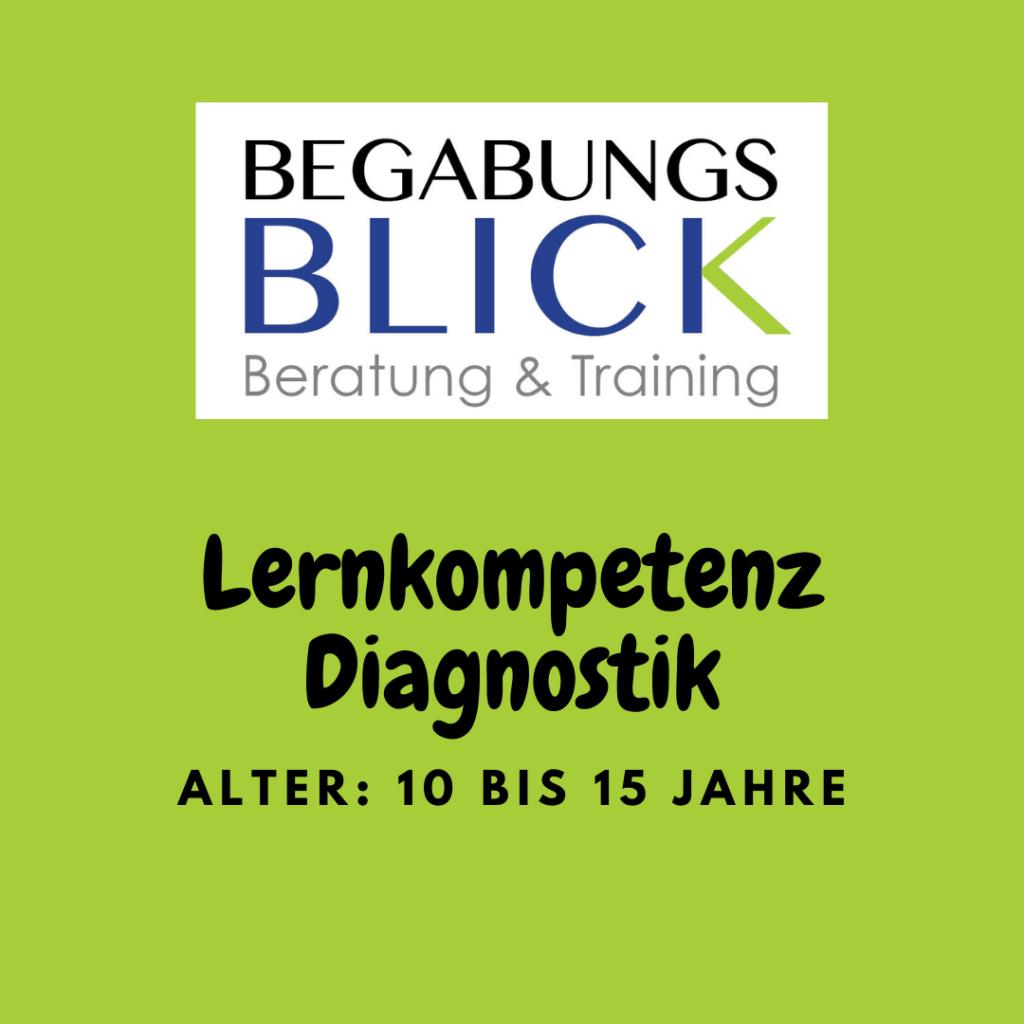 Lernkompetenz Diagnostik 10 bis 15 Jahre