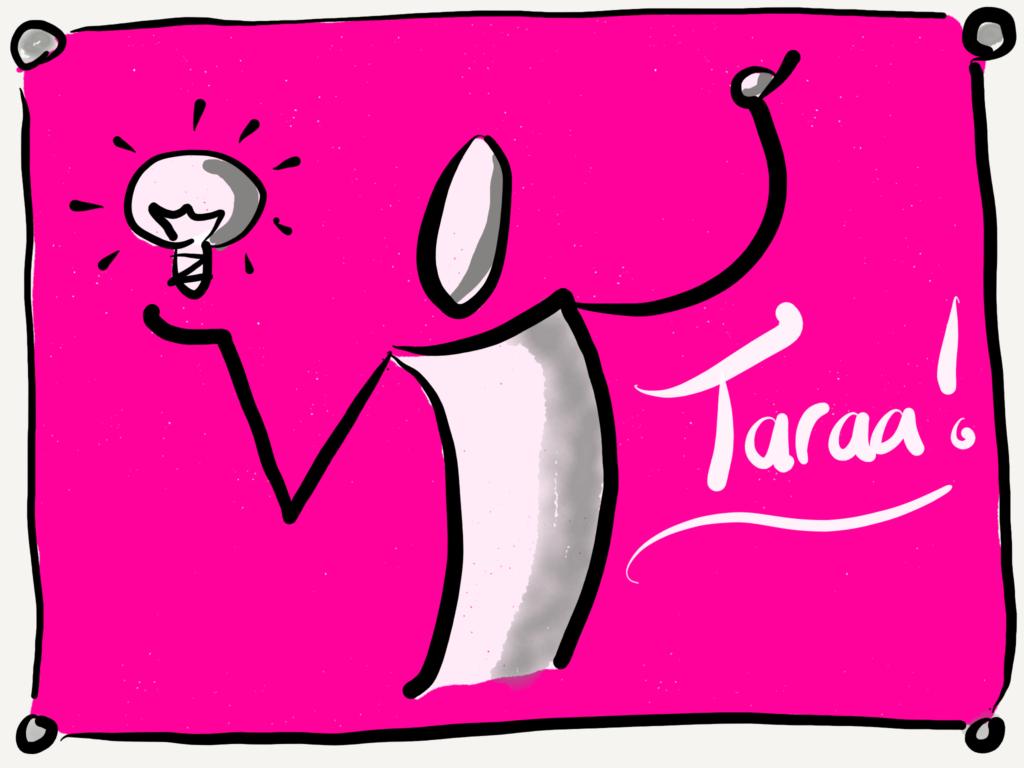 Begeisterung und Taraaa!