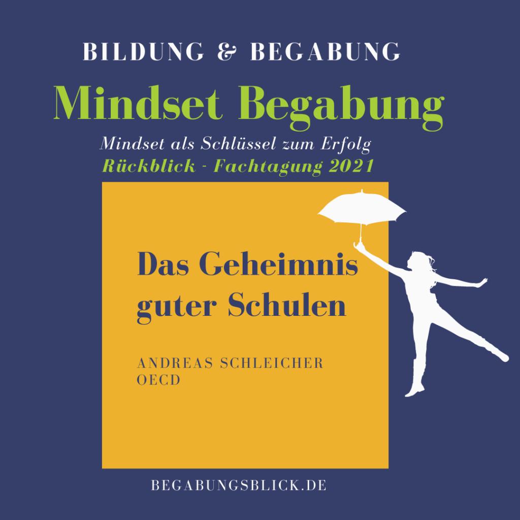 Bildung und Begabung das Geheimnis guter Schulen Andreas Schleicher