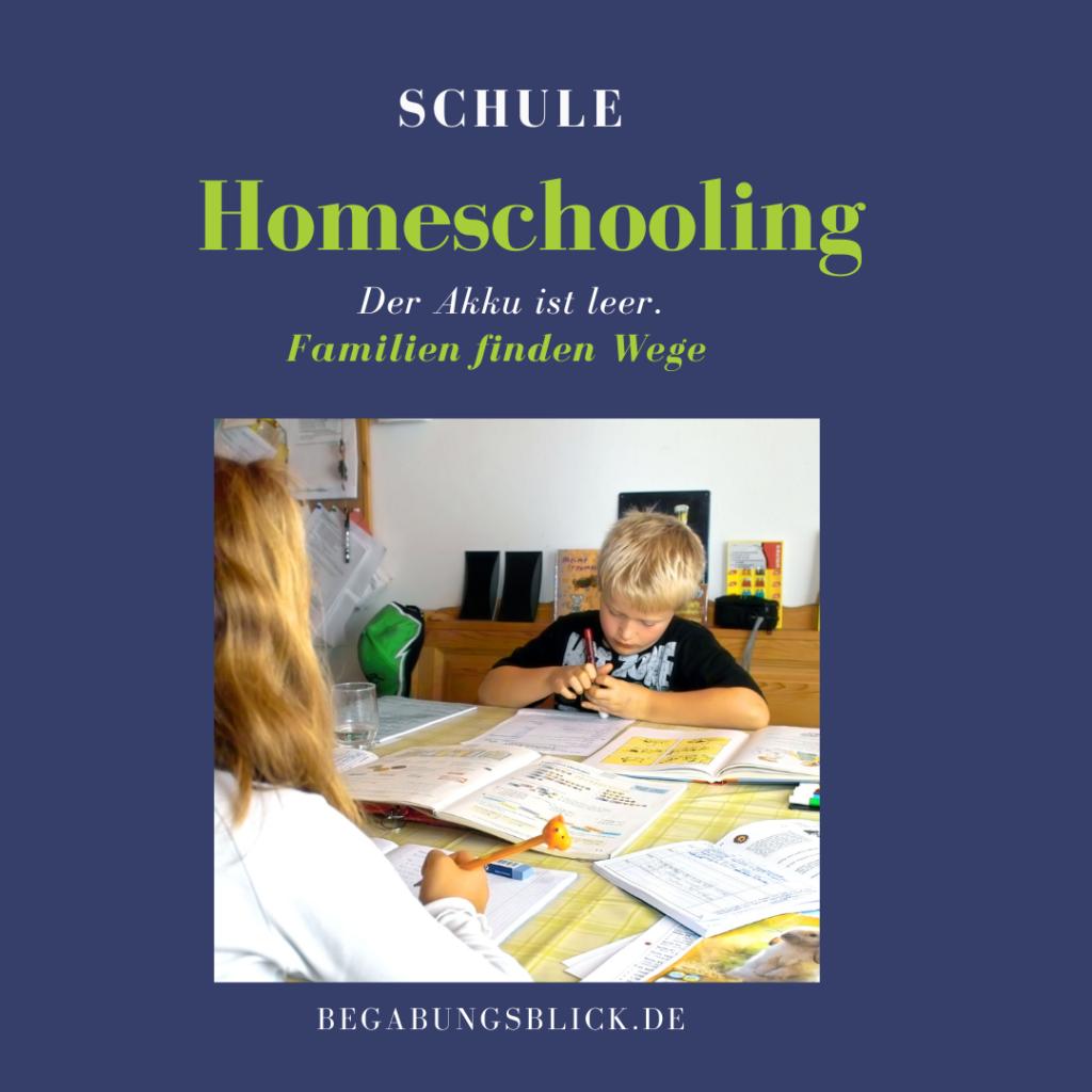 Homeschooling Familien finden neue Wege