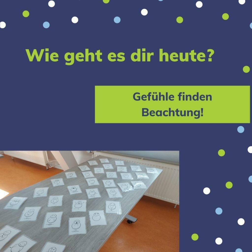 Marburger Konzentrationstraining Blick ins Training. Gefühle und Konzentration hängen zusammen. Mit dem guten Gefühl gelingt vieles einfacher.