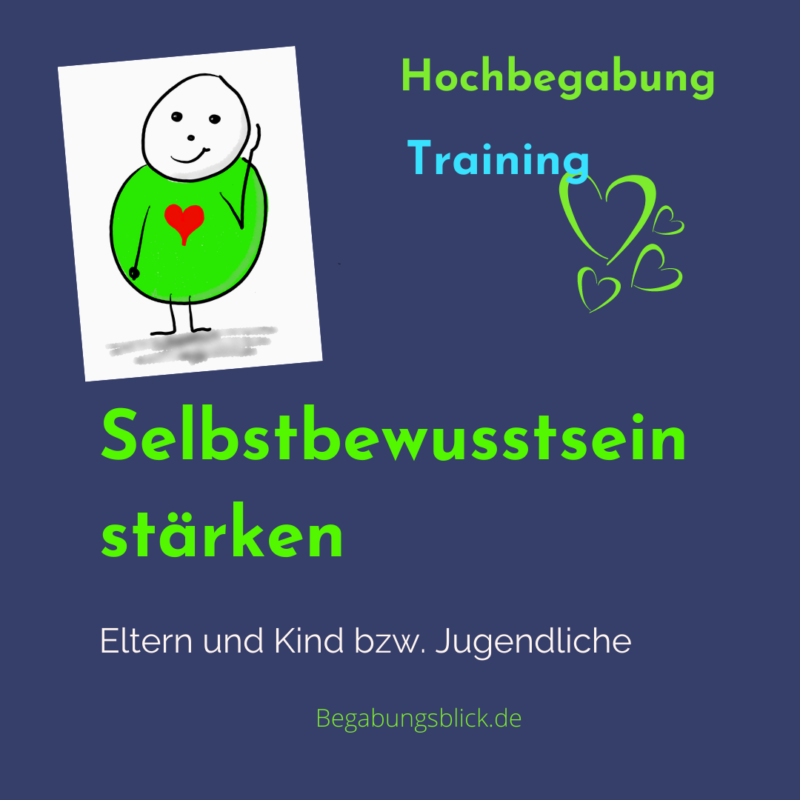 Gefühlskompetenz Training für hochbegabte Kinder und deren Eltern