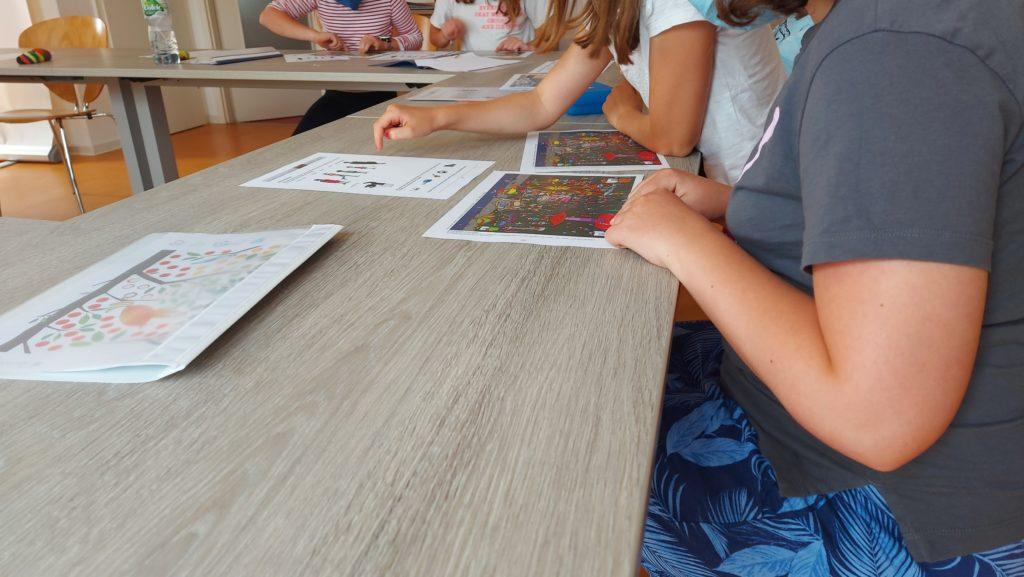 Marburger Konzentrationstraining - hochbegabte Kinder arbeiten in Teams